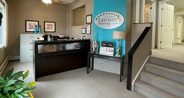 Lawson's Hearing Center office interior